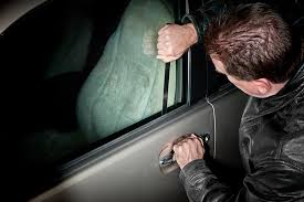 unlocking a car door without a key