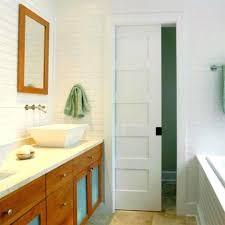 how to install sliding bathroom door