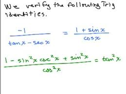 trig proofs series of videos math help and homework help online  trig proof 4 preview image