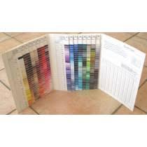 Gutermann Polyester Thread Colour Chart Gutermann Thread Wound Shade Card For Sew All Polyester Thread