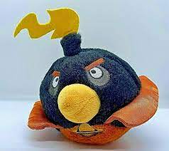 Angry Birds Space Bomb Black Bird Plush 5