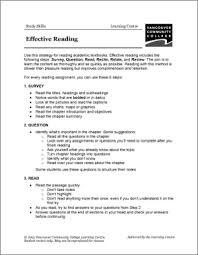 vcc lc worksheets study skills