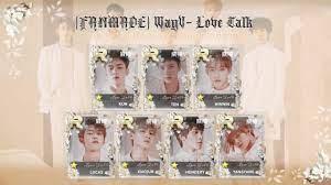 FANMADE] WayV- Love Talk : superstarsmtown