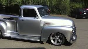 Hot 52 Chevy Pickup Street Rod - YouTube