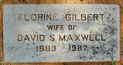 Florine Gilbert Maxwell (1889-1982) - Find A Grave Memorial