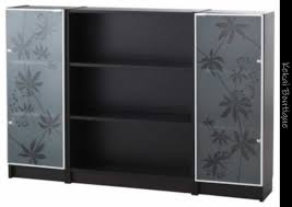 used 3 x new billy nyckelby bookcase gl doors ikea in aiea