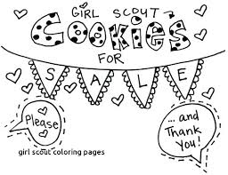 Brownie Girl Scout Coloring Pages Girl Scout Coloring Page Promise