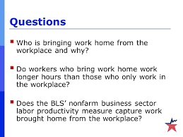bring work home. Questions  Who Is Bringing Work Home From The Workplace And Why. Bring