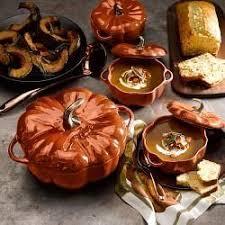 staub cast iron pumpkin.  Iron Staub CastIron Pumpkin Cocotte  WilliamsSonoma With Cast Iron