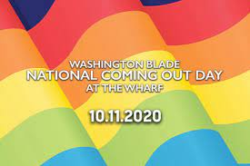 National Coming Out Day at The Wharf