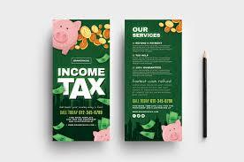 Tax Flyer Design Income Tax Flyer Templates Psd Ai Vector Brandpacks
