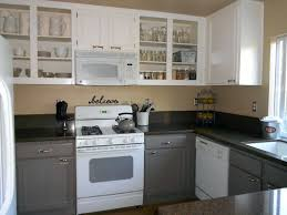 painting oak cabinets grey painting oak cabinets