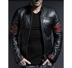 leather jackets for men men s new black genuine lambskin leather stylish motorcycle jacket sottkup