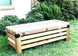 wooden storage bench garden storage bench outdoors outdoor wood storage bench storage garden bench garden bench
