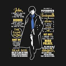 Sherlock Quotes Best Sherlock Quotes Sherlock Kids TShirt TeePublic