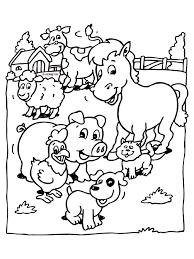 Kleurplaat Dieren Op De Boerderij Kleurplatennl Coloring Book
