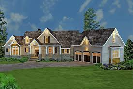 #106-1274  Colorrendering of Country-style House Plan #106-1274