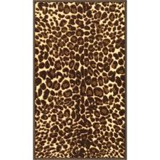 found it at kings court gold leopard print area rug animal canada