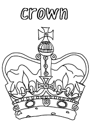 Small Picture Princess Crown for Royal Family Coloring Page NetArt