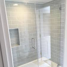 Grey Subway Tile Bathroom Tiles Awesome Bathtub Pertaining To Plan