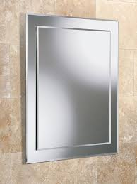 Bevelled Bathroom Mirror Bathroom Mirror 700x500 Glass 5mm Bevelled Edge 77 Kg Amazonco