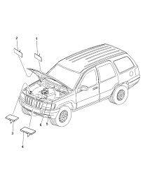 2008 jeep grand cherokee engine partment diagram i2195537