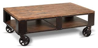 pinebrook coffee table two end tables leons