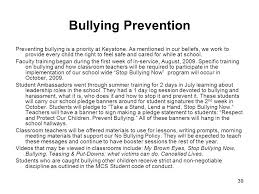 keystone elementary school school wide discipline plan ppt  bullying prevention