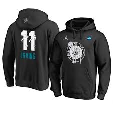 Men's Boston Celtics Kyrie Irving 2019 All-Star Black Hoodie
