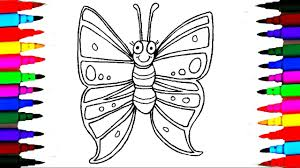 Small Picture Coloring Pages Butterfly l Insect Drawing Pages To Color For Kids