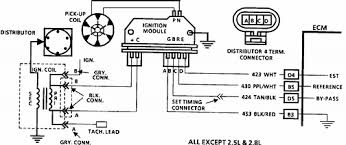 dtc 42 on 1988gmc c1500 5 7l tbi how to fix it truck forum wiring diagram for code 42 electronic spark timing est td tr table