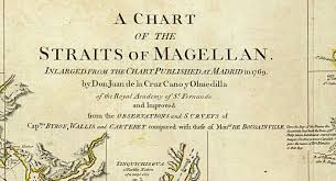 1776 Chart Of The Straits Of Magellan Map And 50 Similar Items