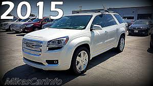 gmc acadia 2015 white. Beautiful 2015 2015 GMC ACADIA DENALI FWD In Gmc Acadia White 5