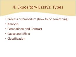 Different Types Of Expository Essays Types Of Academic Essays Ppt Download