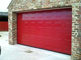 red garage door great red garage door in stylish home design styles interior ideas with red red garage door