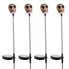 Solar Skeleton Lights 30 Skull And Skeleton Halloween Decorations
