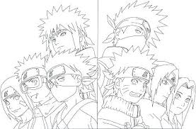Naruto Coloring Pages With Online Auchmar