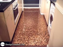 Penny Kitchen Floor A Penny Floor Cool Beans But Here Are My Thoughts How Do You