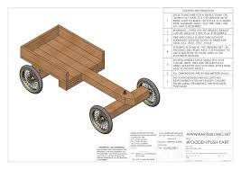 overview of the wooden go kart drg 1