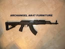 sneak peek of the new Archangel AK47 furniture