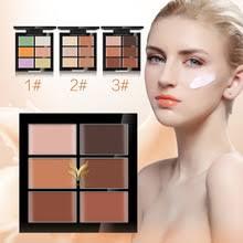 100pcs lot huamianli 6 colors concealer hide blemish acne makeup contour cream