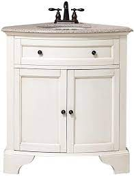Amazon Com Home Decorators Collection Hamilton Corner Bath Vanity 35 Hx31 Wx23 D Ivory Home Improvement