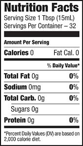 pompeian organic apple cider nutritional information