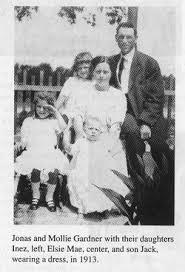 Jonas Bailey Gardner (1878 - 1938) - Genealogy