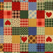patchwork hearts tartan | Quilts Could Take Over the World ... & Patchwork · patchwork hearts tartan Adamdwight.com