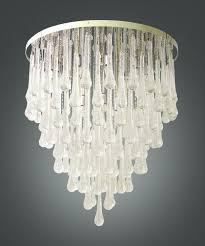 amazing home gorgeous glass drops chandelier in murano avventurina jean marc fray from glass drops