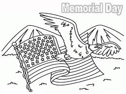 Small Picture United State Flag on Memorial Day Coloring Page Batch Coloring