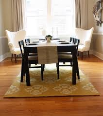dining room rugs size
