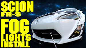 car fog lights installation golkit com Scion Fr S Fog Light Wiring Diagram scion frs fog lights install [the frs project] youtube Fog Light Wiring Diagram without Relay
