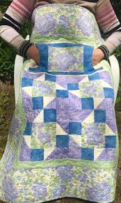 102 best Unique Lap Quilts images on Pinterest | Butterfly and ... & Floral Lilac Lovie Lap Quilt with Pockets from http://www.HomeSewnByCarolyn. Adamdwight.com